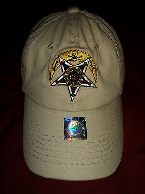Kappa Sigma Fraternity Badge Hat. One size Fits Most. AEKDB + Free Coozie
