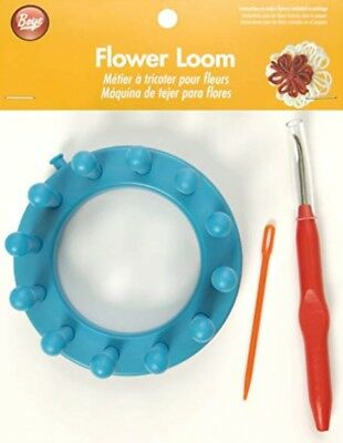 SIMPLICITY BOYE FLOWER LOOM SET - LOOM,HOOK,NEEDLE & INSTRUCTIONS bnew