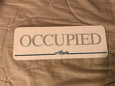 Alaska Airlines Occupied Card