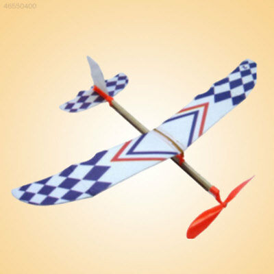 BB40 Flying Glider Planes Aeroplane Model Toys Rubber Band Childrens Gift Fun