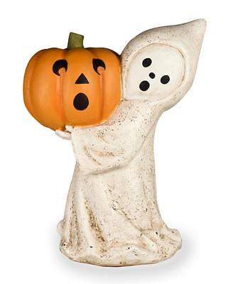 Little Ghost with Jack O'Lantern - Halloween - Bethany Lowe KL7554