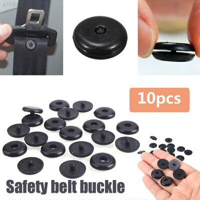 4F31 Spacing Limit Buckle Seatbelt Stop Button Protable Safety Seat Belt 3DFF