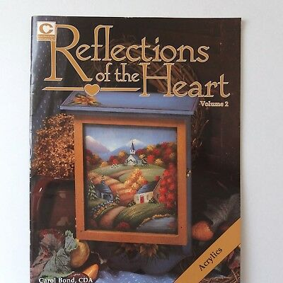 Reflections of the Heart Volume 2 Tole Folk Art Booklet. 29 pages,good condition