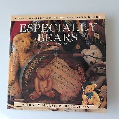 Especially Bears by Di Lamont. Folk Art painting booklet from 1995. 72 pages
