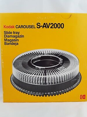 Kodak Carousel S-AV2000 Slide Tray (Cat. No. 701 7189) Like New in Box