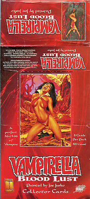 Vampirella Blood Lust - EMPTY CARD BOX - NO PACKS - SHIPPED FLAT