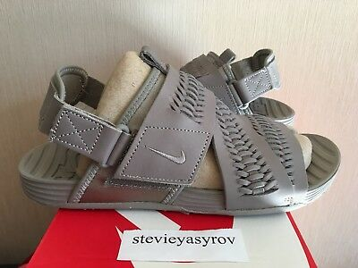 20ec77bb7d87 ... affordable price eefa2 c90b8 Nike Air Solarsoft Zigzag Wvn Woven QS  Sandals 850588 200 Light Taupe ...