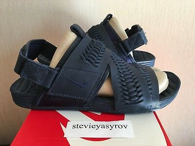 ae256bc0e5a0 ... uk availability 0db83 c6c85 Nike Air Solarsoft Zigzag Wvn Woven QS  Sandals 850588 400 Obsidian size ...