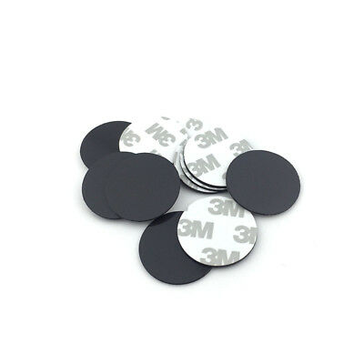 10pcs 30x1mm Self Adhesive Soft Rubber Magnetic Pads Round Fridge Craft Magnet