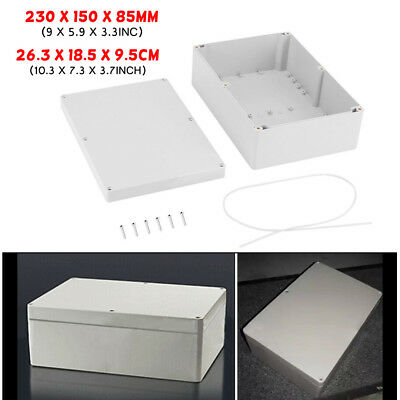 Waterproof Electronic Project Box Enclosure ABS Plastic Case Junction Box
