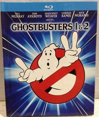 Ghostbusters 1 & 2 (Blu-ray Disc, 2014, 2-Disc Set, Mastered in 4K Movie