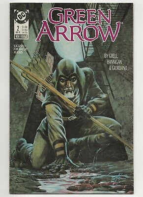 Green Arrow #2  FN/VF  (1987 1st Series) DC