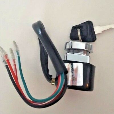 High Quality 6 -12volt ignition switch for honda 4 wire