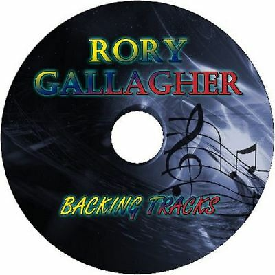 Rory Gallagher Blues Guitar Backing Tracks Cd Best Greatest Hit Music Play Along