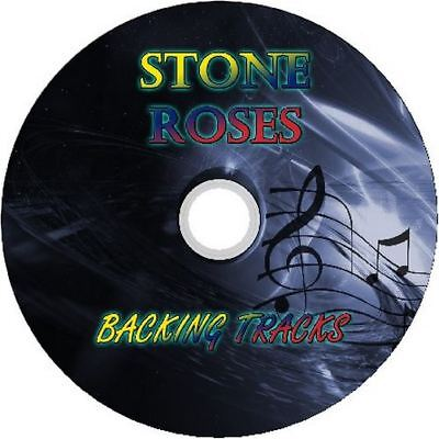 Stone Roses Guitar Backing Tracks Cd Best Of Greatest Hits Music Play Along Mp3