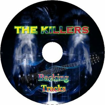 The Killers Guitar Backing Tracks Cd Best Greatest Hits Music Play Along Rock