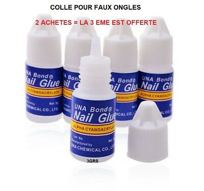 Colle Faux Ongle Tip Gel Uv Vernis French Manucure Ong510