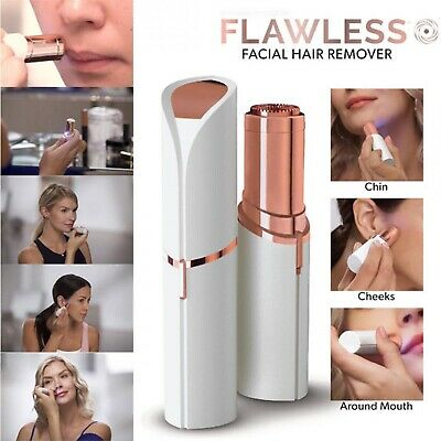 Flawless Skin Women Painless Hair Remover Face Facial Finishing Touch Shaver