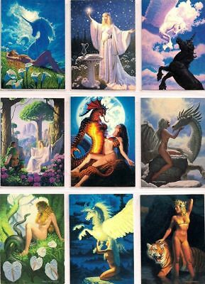 Greg Hildebrandt Series 1 - Complete Card Set (90) - Comic Images - 1992 - NM