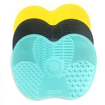 Brush Cleaner Cosmetic Silicone MakeUp Washing & Cleaning Mat Pad Scrubber Board