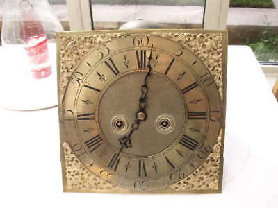 Henry Jerard Hindon 8 Day Longcase Clock Dial And Movement