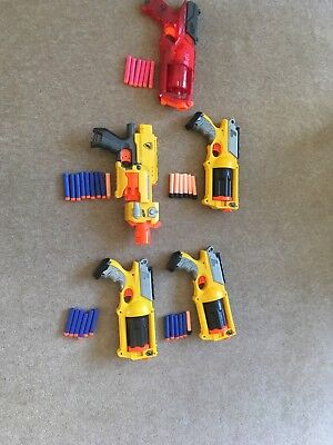 nerf gun job lot - Nerf Strike - excellent condition - with bullets