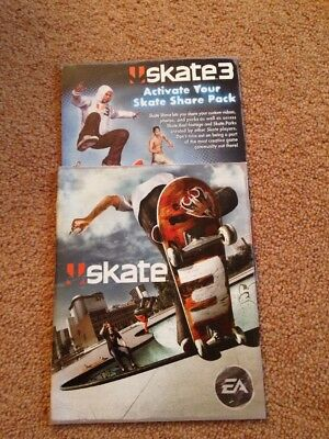 playstation 3 skate 3 manual only ps3 3 95 picclick uk rh picclick co uk Best Skate PS3 Skate Cheats PS3