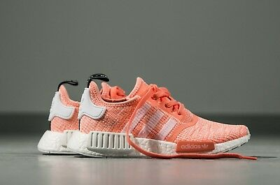 146e9302ef65a Adidas NMD R1 Originals Runner Sun Glow Salmon Pink Women New Size 4-10 (