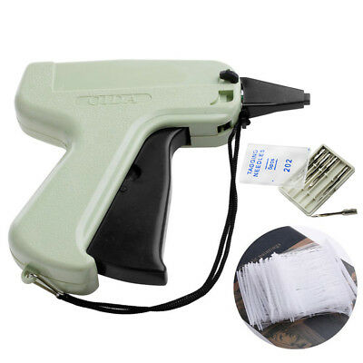 Clothes Tagging Gun +5 Steel Needle +1000 Kimble Tag System Barbs Tag Garments