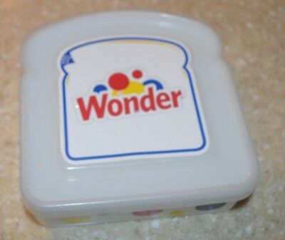 Wonder Bread Sandwich Container READY FOR BACK TO SCHOOL LUNCH BOX!!!