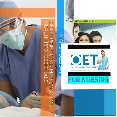OET 2.0 Grammar book+ 10 Case Notes.. PDF and Word Format...