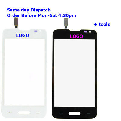 LG L65 D280 D280G D280N Touch Screen Digitizer Glass Black White + tools