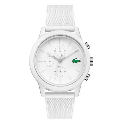 Lacoste MOON SMALL Mens Analog casual White Band 2010974