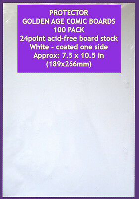Golden Age Comic Backing Boards Resealable Bags x110 =10%more Frew Phantom Comic