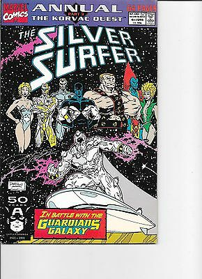 Silver Surfer  annual #4  NM  signed by Ron Lim