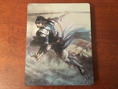 Dynasty Warrior 9 Steelbook Only Original Game Cases & Boxes