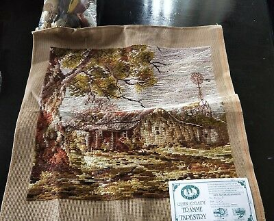 BRAND NEW QUEEN ADELAIDE Trammed TAPESTRY CANVAS & WOOL No. A3020/1