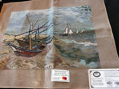 BRAND NEW QUEEN ADELAIDE Trammed TAPESTRY CANVAS & WOOL No. A565
