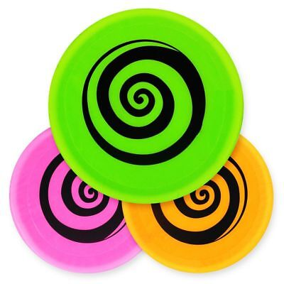 LARGE Adult Kids Soft Frisbee Flying Disc Ring Garden Summer Beach Toy