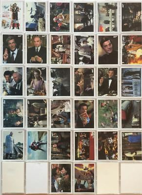 James Bond Archives 2017 Final Edition Octopussy Throwback Card Set 32 Cards