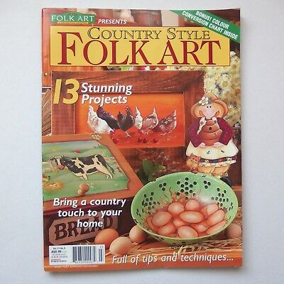 Country Style Folk Art Vol 11 No 9. Folk art & Tole Painting. good condition