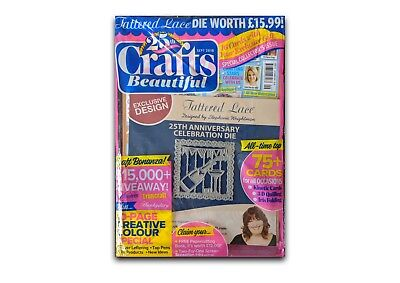 CRAFTS BEAUTIFUL MAGAZINE #322 - 25YR special + FREE GIFT - NEW & UNOPENED