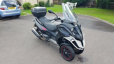 *REDUCED* 2011 Gilera Fuoco 500 ie Maxi 3 wheel scooter 3565 miles only!
