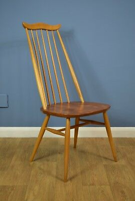 Mid Century Retro Ercol Goldsmith Dining Chair Model 369 Excellent 1960s