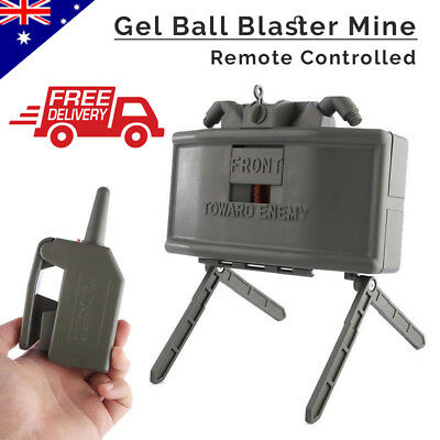 Electric Remote Control Gel Ball Blaster Bomb Anti Personnel Mine Outdoor Toy AU