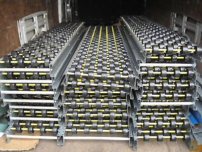 Track 301 x 1875 long Gravity Conveyor Wheel Bed