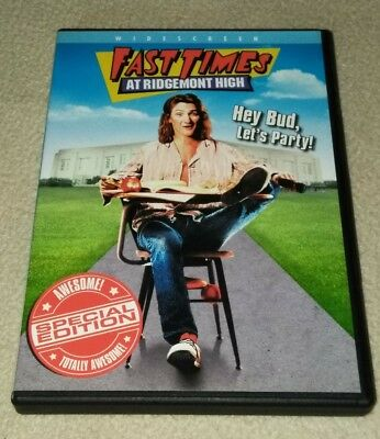 Fast Times at Ridgemont High (DVD, Special Edition Widescreen