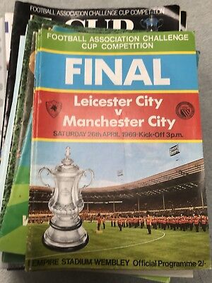 1969 Fa Cup Final. Leicester City V Manchester City