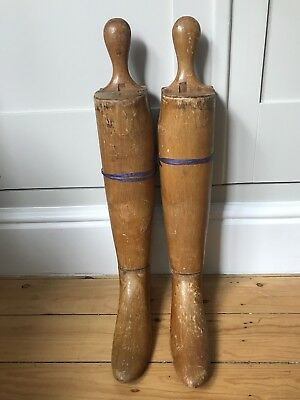 Vintage Wooden Boot Trees