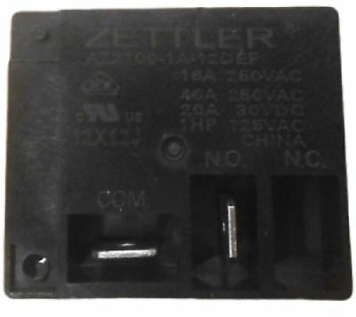 Zettler AZ2100-1A-12DEF -  Electromechanical Relay 12VDC 40A 155Ohm Through Hole